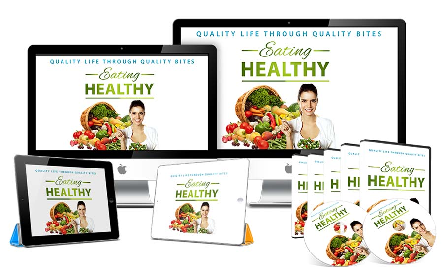 Eating Healthy Premium PLR EBook Complete Video Course_0