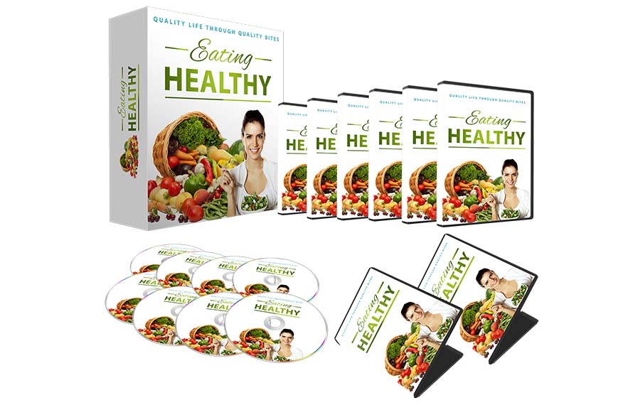 Eating Healthy Premium PLR EBook Complete Video Course_1
